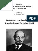 6. HSE353E W12 [Lenin Bolshevik Revolution]