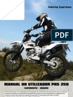 AJP MOTOS - PR5 Manual do Utilizador