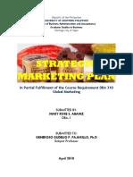 Strategic Marketing Plan (1)
