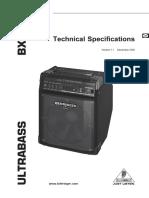 bxl900 user manual