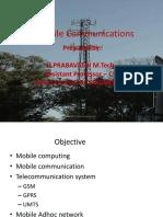 Intro to Mobile Computing