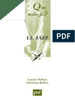 Le Jazz - Lucien Malson, Christian Belles