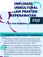 IMplikasi Transkultural Dlm Praktek Kep P7