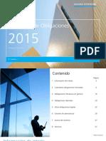 Calendario Obligaciones 2015