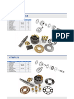 10 Swing Motor Spare Parts