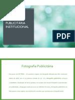 Manual Fotografia Publicitária - Institucional