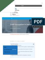 SINP Occupation in Demand