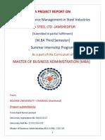Human Resource Management in Steel Industries