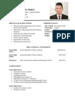 Watik Resume