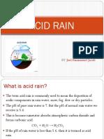1.ACID RAIN