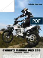 AJP MOTOS - PR5 User Manual