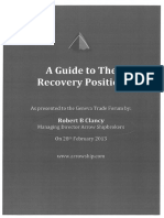 A Guide to Recovery Position by Robert Clancy