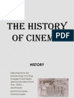The History of Cinema.ppt