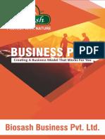 Bio Sash Business Plan