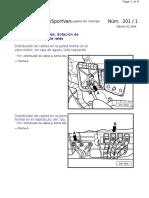 1-Distribuidor de Cables, Dotación de Fusibles y La Placa de Relés