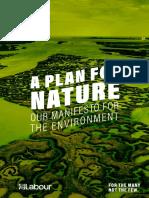 Labour environmental manifesto 2019