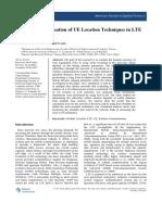Valuation of UE Locat.89