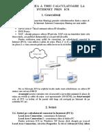 Conectarea a Trei Calculatoare La Internet Prin Ics