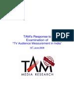 Survey Tam Peoplemeter Ratings