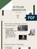 Bi Polar Transistor