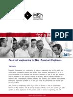 Reservoir Engineering for Non Reservoir Engineers1