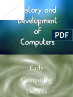 History and Development of Computers