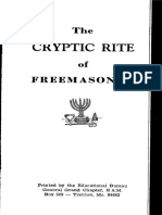 135830475 29375969 Cryptic Rite of Freemasonry