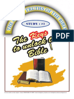 01 # the Keys to Unlock the Bible