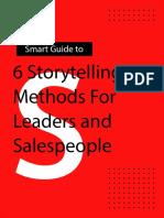 Best Storytelling Methods