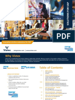Vistex Solutions for SAP Booklet 2019
