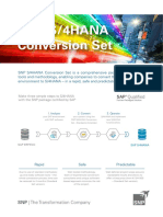 S4HANA Conversion One Pager En