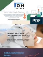 Aesthetic Laser Market Growth 2019-2027