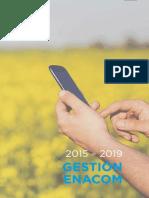 El ENaCom presentó su historia oficial 2015-2019