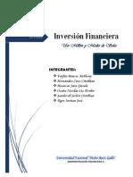 Avance de Financiera Este