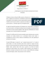 Pjl97-XIV Regime Especial de Contabilização Do Tempo de Trabalho Dos Docentes Em Horário Incompleto