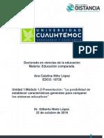 1.2 Características Para Comparar SE _ Niño Ana