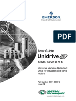 Unidrive SP - User Guide 0-6 (Issue 12)
