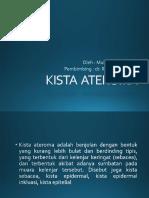 KISTA ATEROMA