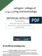 Arti Intelligence 23.09.2019