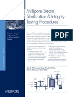 Millipore Sterilization & Integrity