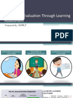 Curriculum Evaluation Through Learning Assessment