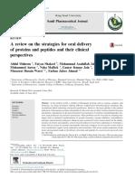 Peptide Drug Delivery