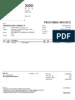 Proforma Invoice Cleaver