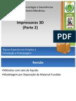 Impressoras 3D Parte-2 J2