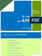 el abc del APA
