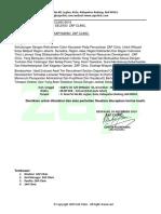 Surat Panggilan Seleksi Zap Clinic