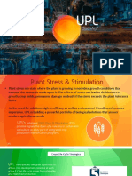Plants Stress and Stimulation - Agriculture technology