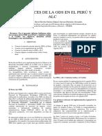 Avances de La ODS en El Perú y ALC