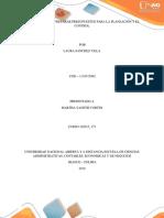 UNIDAD 2 - Preparar Presupuestos Para La Planeación y El Control
