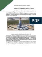 Central Hidroeléctrica de Chilca